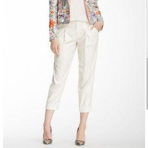 Alice + Olicia Arthur shimmery crop pants sz 6